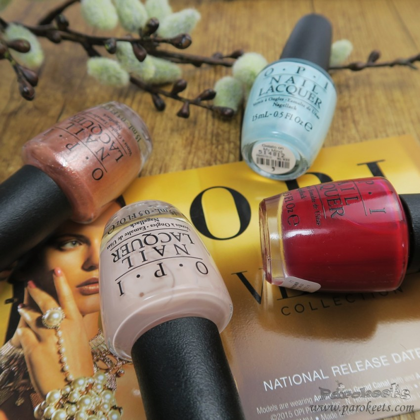 OPI Venice autumn collection 2015