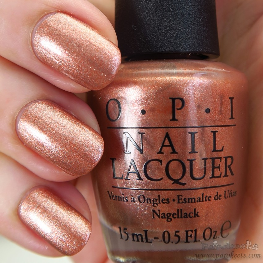 OPI Worth A Pretty Penne (Venice) polish fall 2015