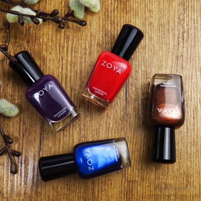 Zoya jesen 2015: Focus,Flair