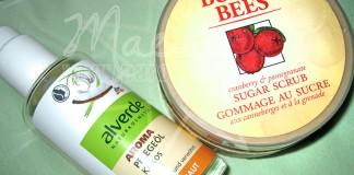 Alverde - Kokos Pflege Ol, Burt' s Bees - Sugar Scrub