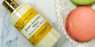 L'Occitane Jasmin-Immortelle-Neroli body lotion