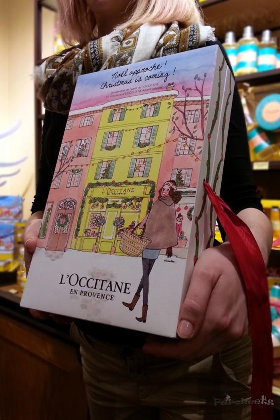 L'Occitane adventni koledar 2015, Kristina