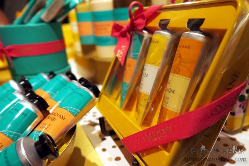 L'Occitane božični set - kreme za roke