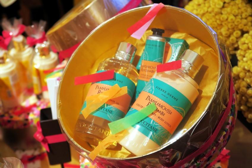 L'Occitane gift set Pamplemousse-Rhubarbe