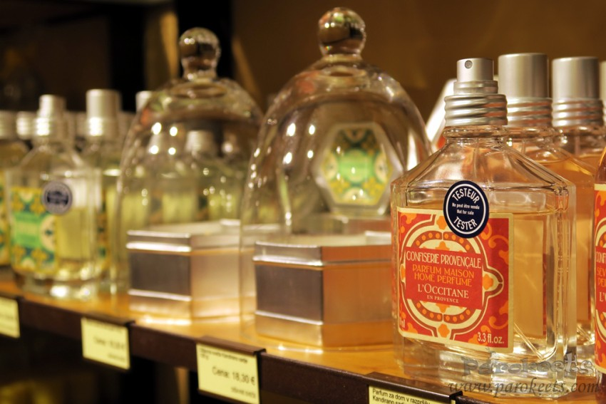 L'Occitane home fragrance