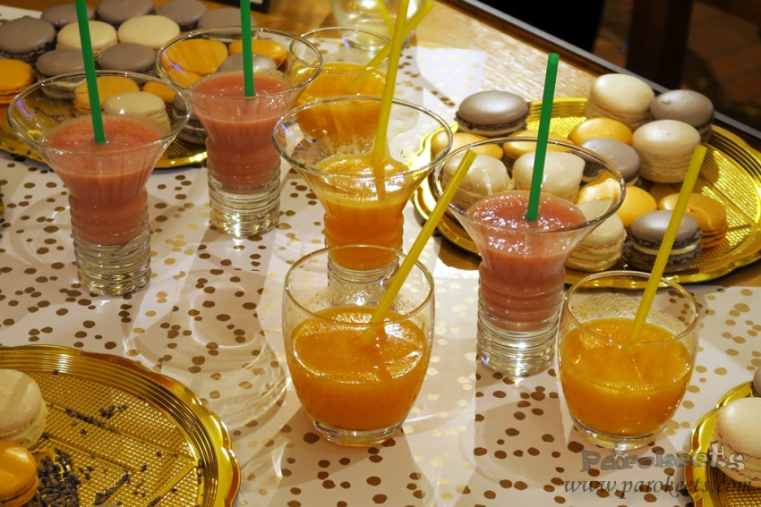 L'Occitane event smoothie