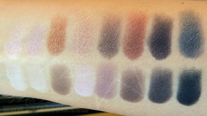 Lorac PRO make up palette (swatch)