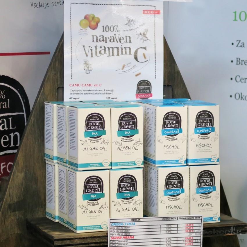 Sejem Narava Zdravje 2015 Dominur Royal Green - prehranski dodatki