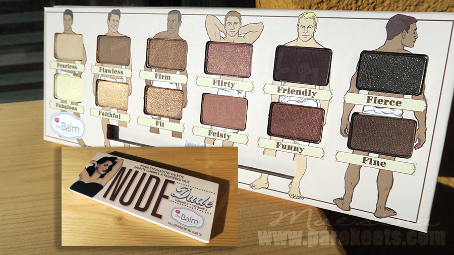 The Balm Nude Dude make up palette