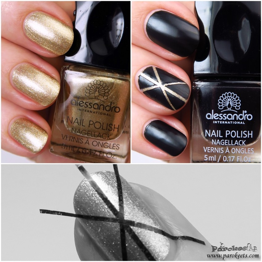 Alessandro 99 Advent Calendar 2015 + Black Leather (Glam Rock) stripes