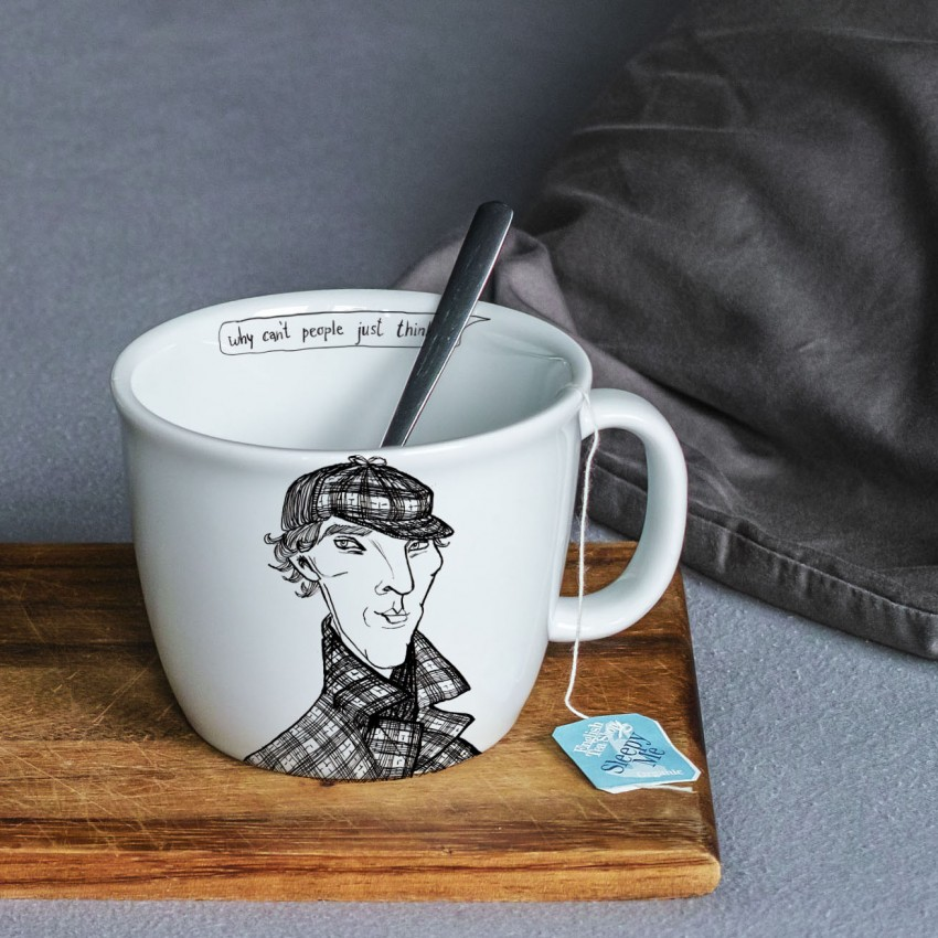 Polonapolona CUPS N' MUGS Sherlock