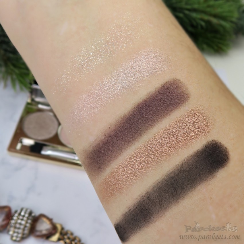 IsaDora Golden Eyes paleta senčil (Golden Edition LE 2015) swatch