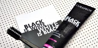 Curaprox Black is White belilna zobna pasta