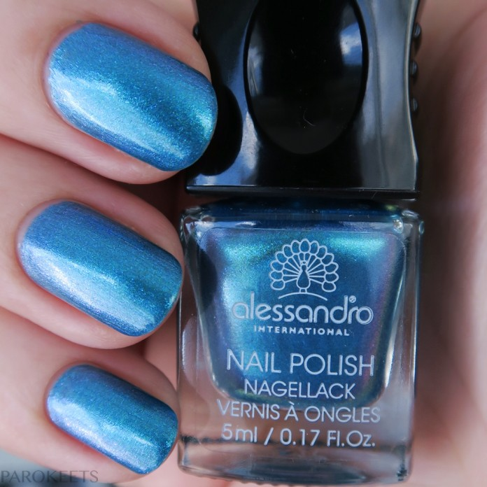 Alessandro Electric Blue (Cosmic Chic) polish