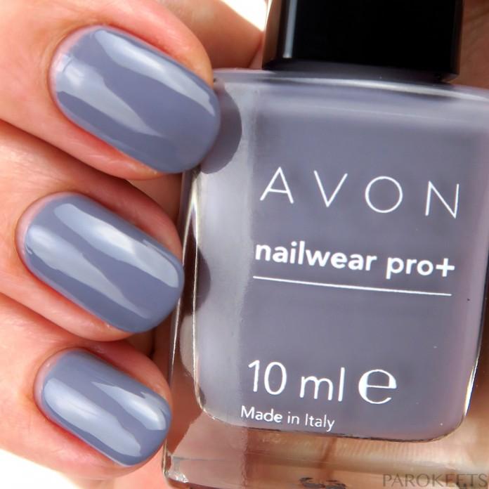 Avon Innocence nail polish (Modern Romance)