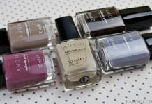 Avon Modern Romance collection nail polishes
