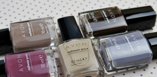 Avon Modern Romance collection nail polishes