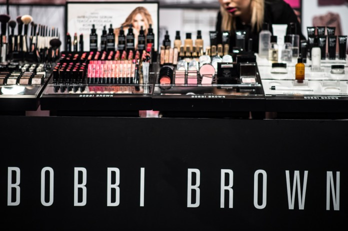 Bobbi Brown event na Ljubljanskem gradu - stojalo