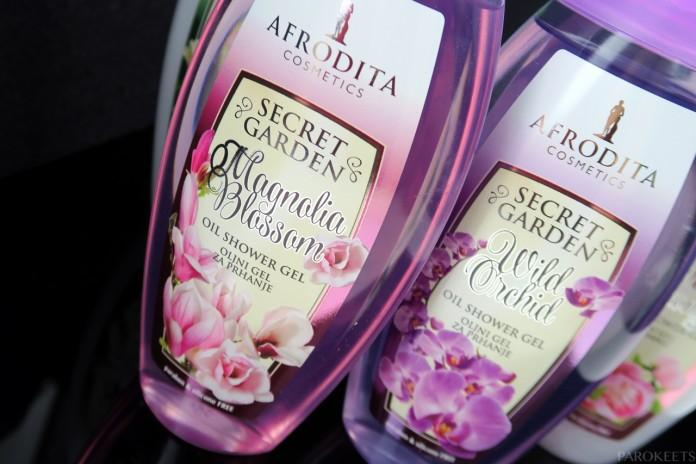 Afrodita Magnolia Blossom Secret Garden geli za tusiranje