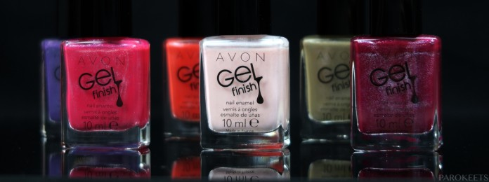 Avon Gel Finish shimmer 2016