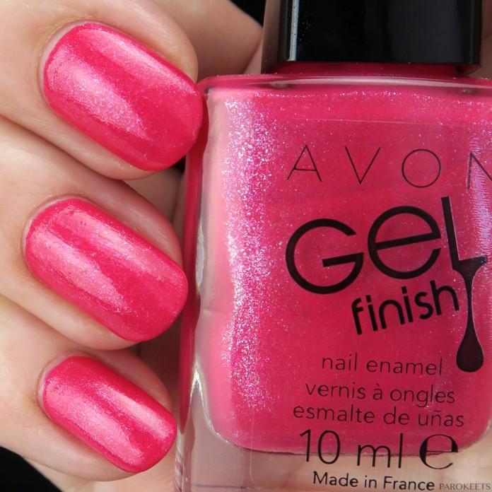 Avon Pink Shimmer lak za nohte (pomlad 2016)