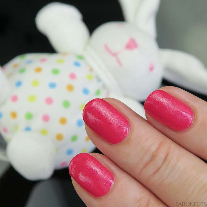 Avon Pink Shimmer swatch