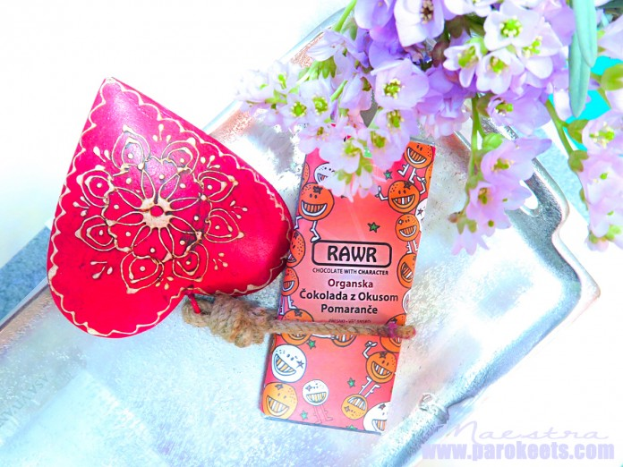 RAWR čokolada