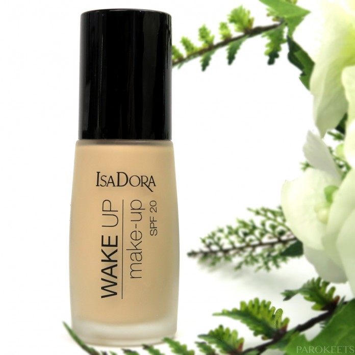 IsaDora Wake Up make-up tekoči puder