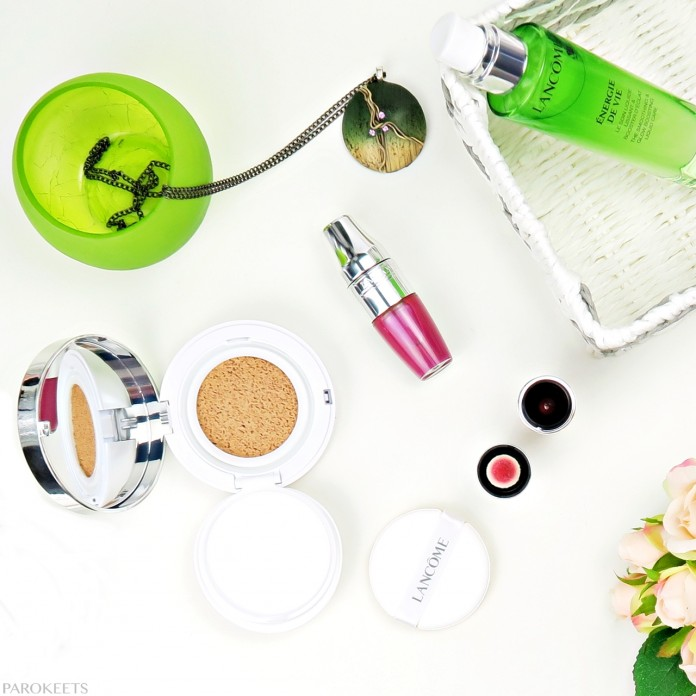 Lancome beauty brunch event - Jicy Shaker, Miracle Cushion, Energie De Vie