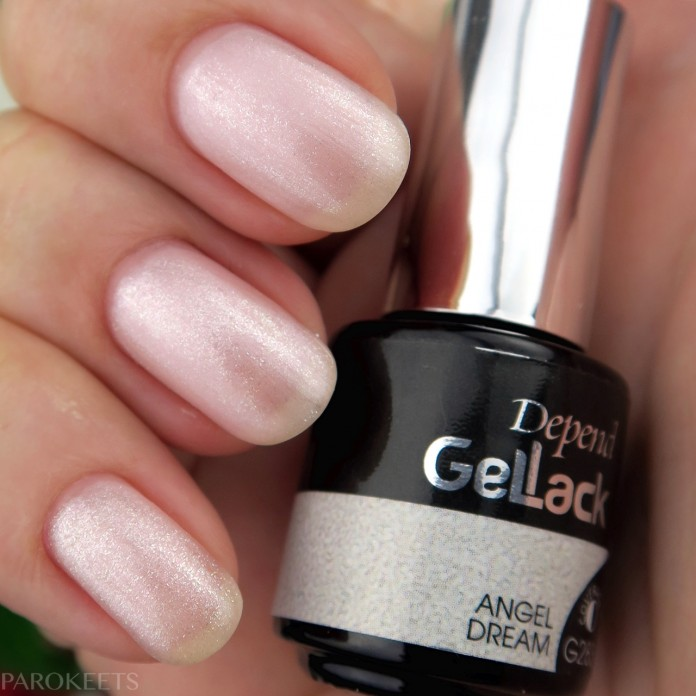 Depend Gellak G283 Angel Dream swatch