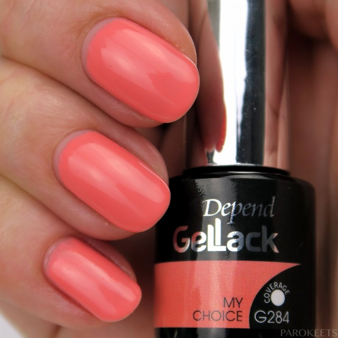 Depend Gellak G284 My Choice swatch