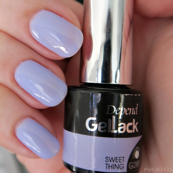Depend Gellak G285 Sweet Thing swatch (senca)