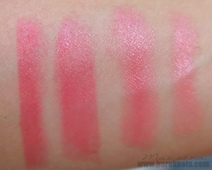 Essence The Beach House lipsticks