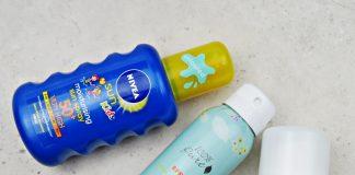 SPF: Nivea 50+ za otroke, 100% Pure 30, ECO cosmetics 50+