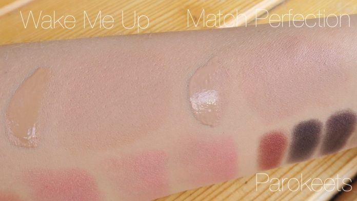 Rimmel Wake Me Up, Match Perfection foundation