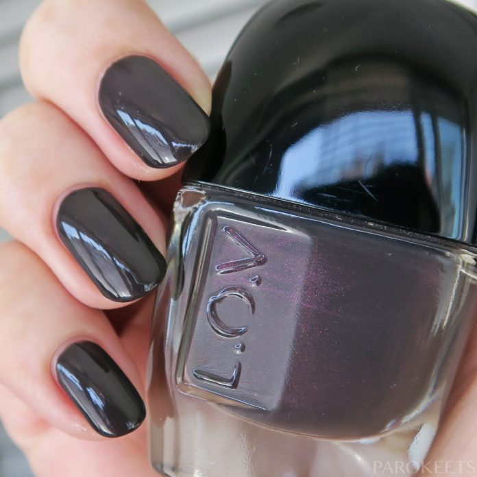 LOV Lovinity Nail Lacquer 270 Subtle Shadow swatch