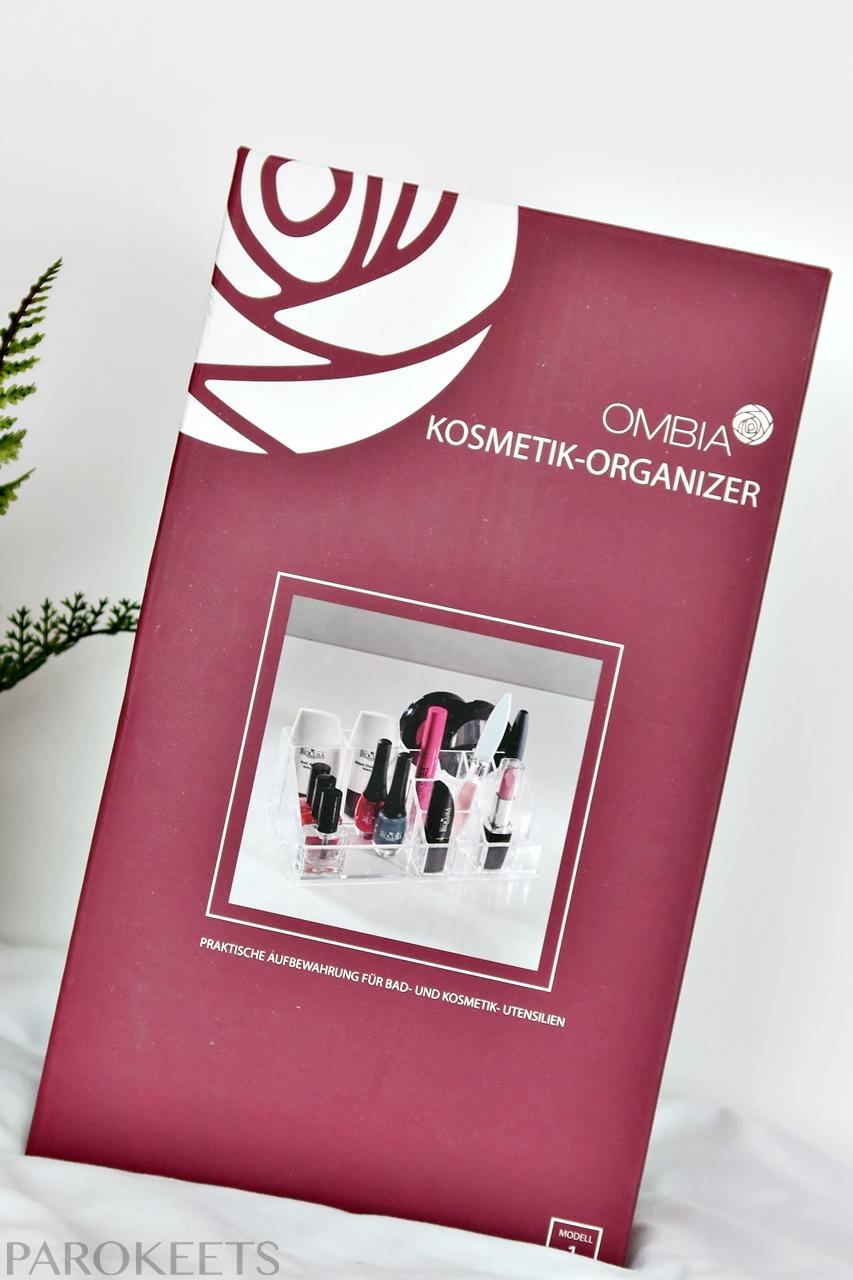 Ombia Kozmetik Organizer, skatla za shranjevanje kozmetike