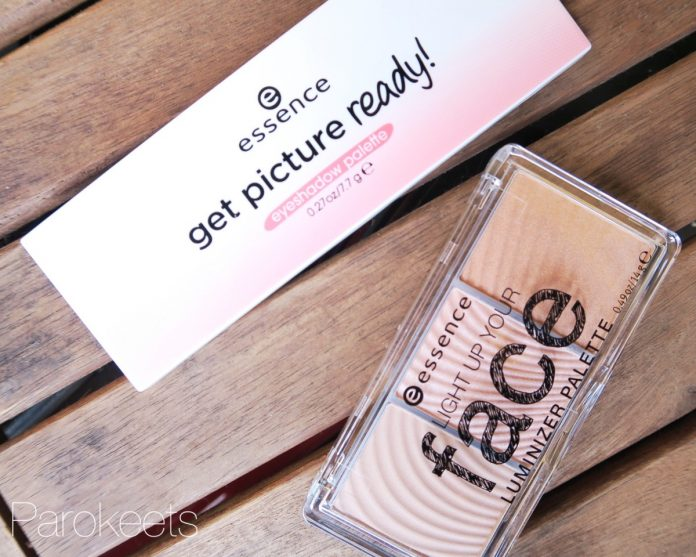 Essence Get Picture Ready and Light Up your Face palettes