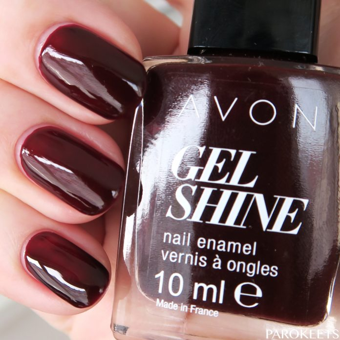 Avon Gel Shine Wine and dine me P815 lak za nohte