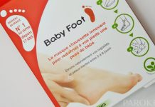 Baby Foot kislinski piling