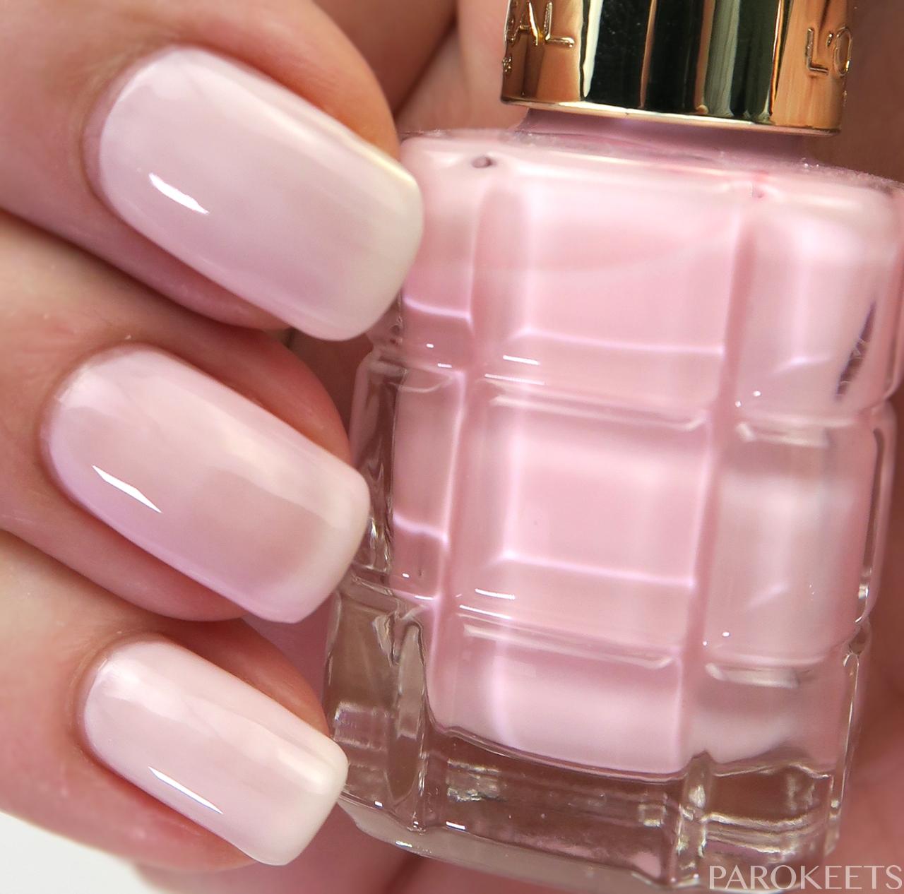 L\'Oreal Color Riche Le Vernis a l\'Huile nail polish swatches | Parokeets