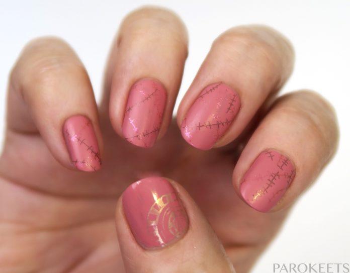 Rožnati oktober - roza nohti