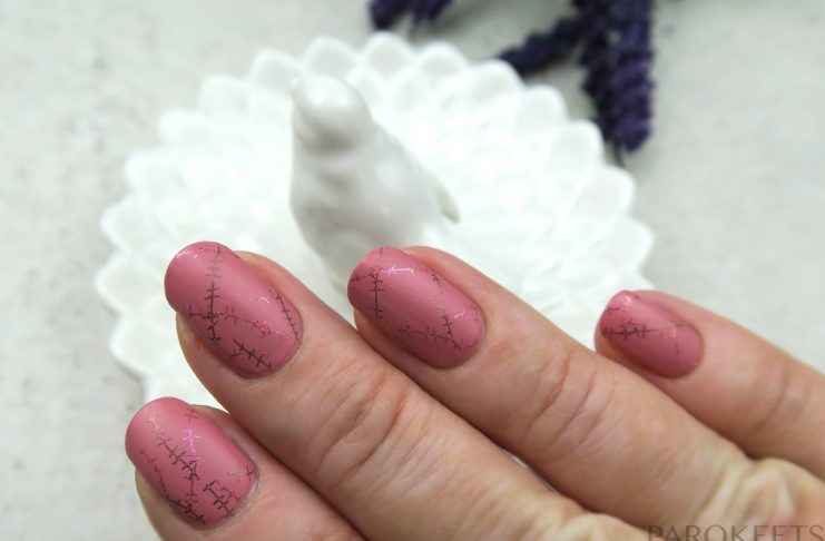 Pink October 2016 manicure