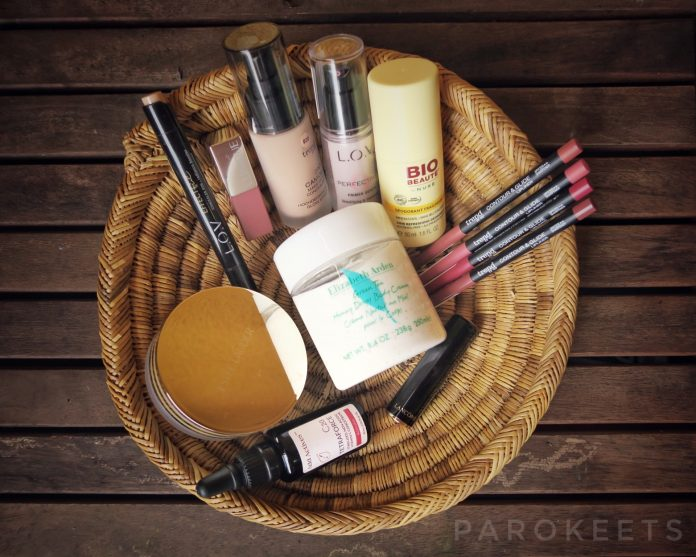 Favoriti: Nuxe, L.O.V, Trend It Up, Clinique, Elizabeth Arden, Add Actives, Estee Lauder