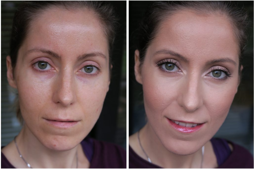 Power of make up (with and without make up)