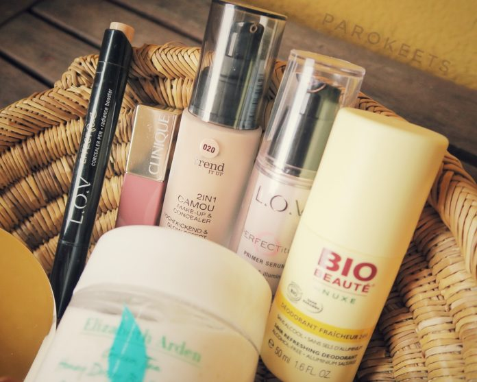 Favoriti: Nuxe, L.O.V, Trend It Up, Clinique, Elizabeth Arden