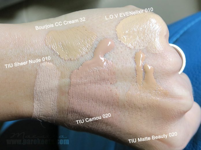 Comparison: Trend It Up, Bourjois, L.O.V