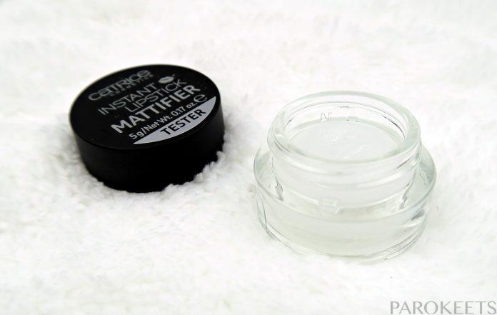 Catrice Instant Lipstick mattifier silicone for lips