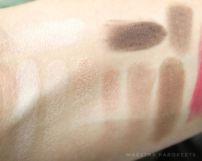 Catrice The Essential Nude eyeshadow palette (swatch)
