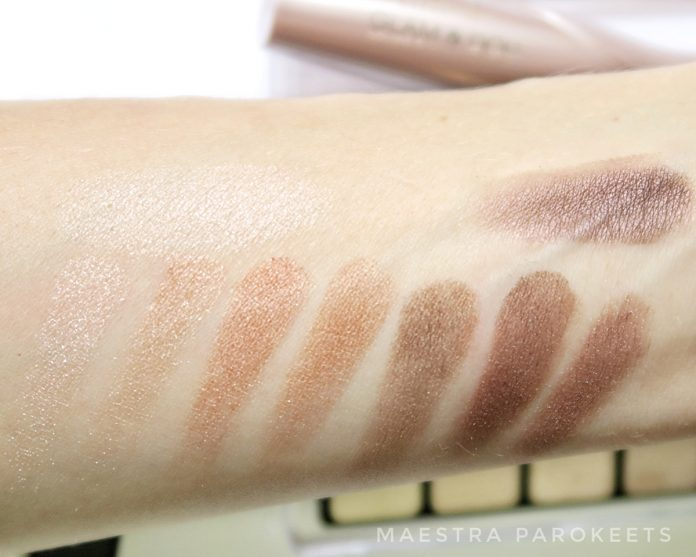 Catrice The Precious Copper eyeshadow palette (swatch)